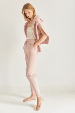 Pedro del Hierro Soft feel jersey-knit jogger trousers Pink