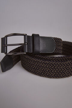 Pedro del Hierro Woven belt Brown