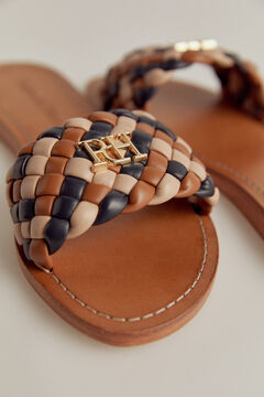 Pedro del Hierro Nappa leather sandal Several