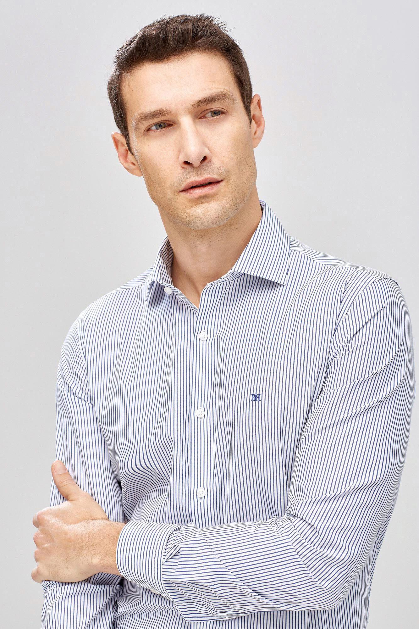 6f2cc8bb222f Non iron striped formal shirt   Shirts   Pedro del Hierro Man & Woman