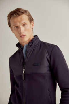 Pedro del Hierro Zipped jacket Blue
