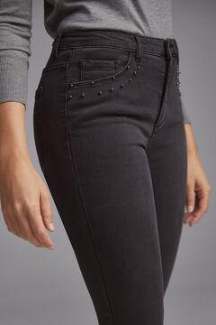 Pedro del Hierro Flared lycra® jeans Black