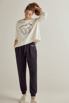 Pedro del Hierro Soft feel jogging bottoms Blue
