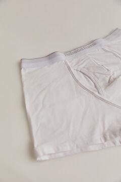 Pedro del Hierro Plain jersey-knit boxers White