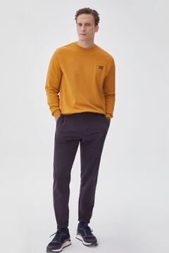 Pedro del Hierro Crew neck sweatshirt Yellow