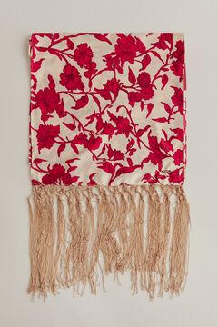 Pedro del Hierro Fringed shawl Beige
