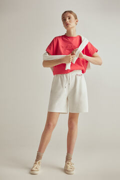 Pedro del Hierro Oversized t-shirt, shorts and sneakers set