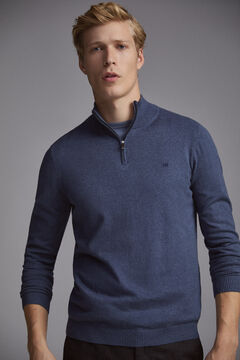 Pedro del Hierro Turtleneck jumper  Blue