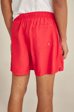 Pedro del Hierro Plain swim shorts Red