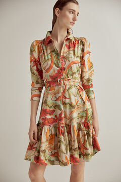 Pedro del Hierro Printed organic cotton dress Several
