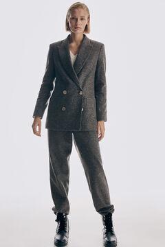 Pedro del Hierro Patch pockets blazer Brown