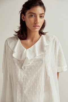 Pedro del Hierro Flounced plumetis camisole White