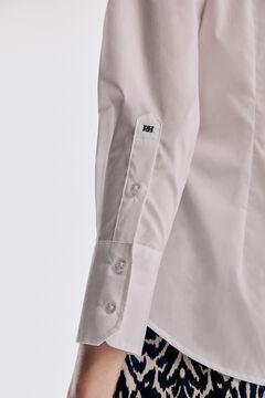 Pedro del Hierro Blusa básica popelín, fácil planchado White