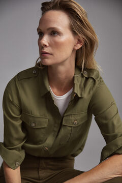 Pedro del Hierro Shirt blouse  Green