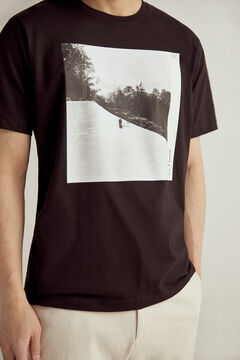 Pedro del Hierro Short-sleeved T-shirt Black