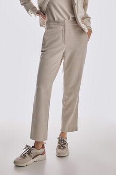 Pedro del Hierro Jersey-knit culottes Brown