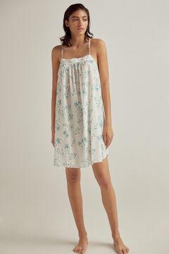 Pedro del Hierro Printed strappy nightgown White