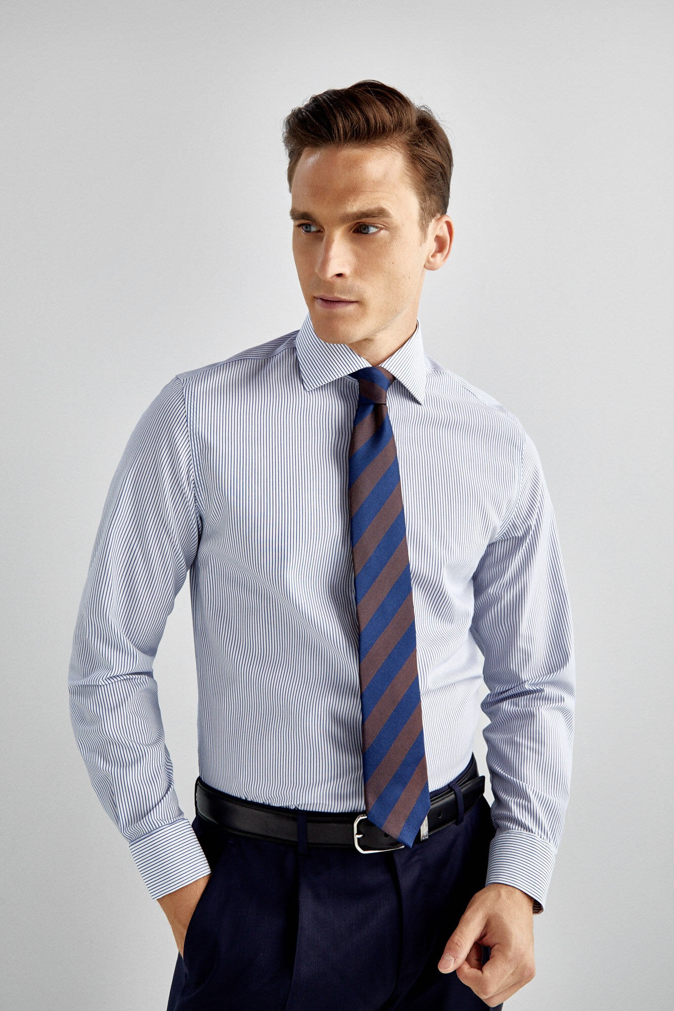 Non Iron Dress Shirt With Cufflinks Shirts Pedro Del Hierro Man