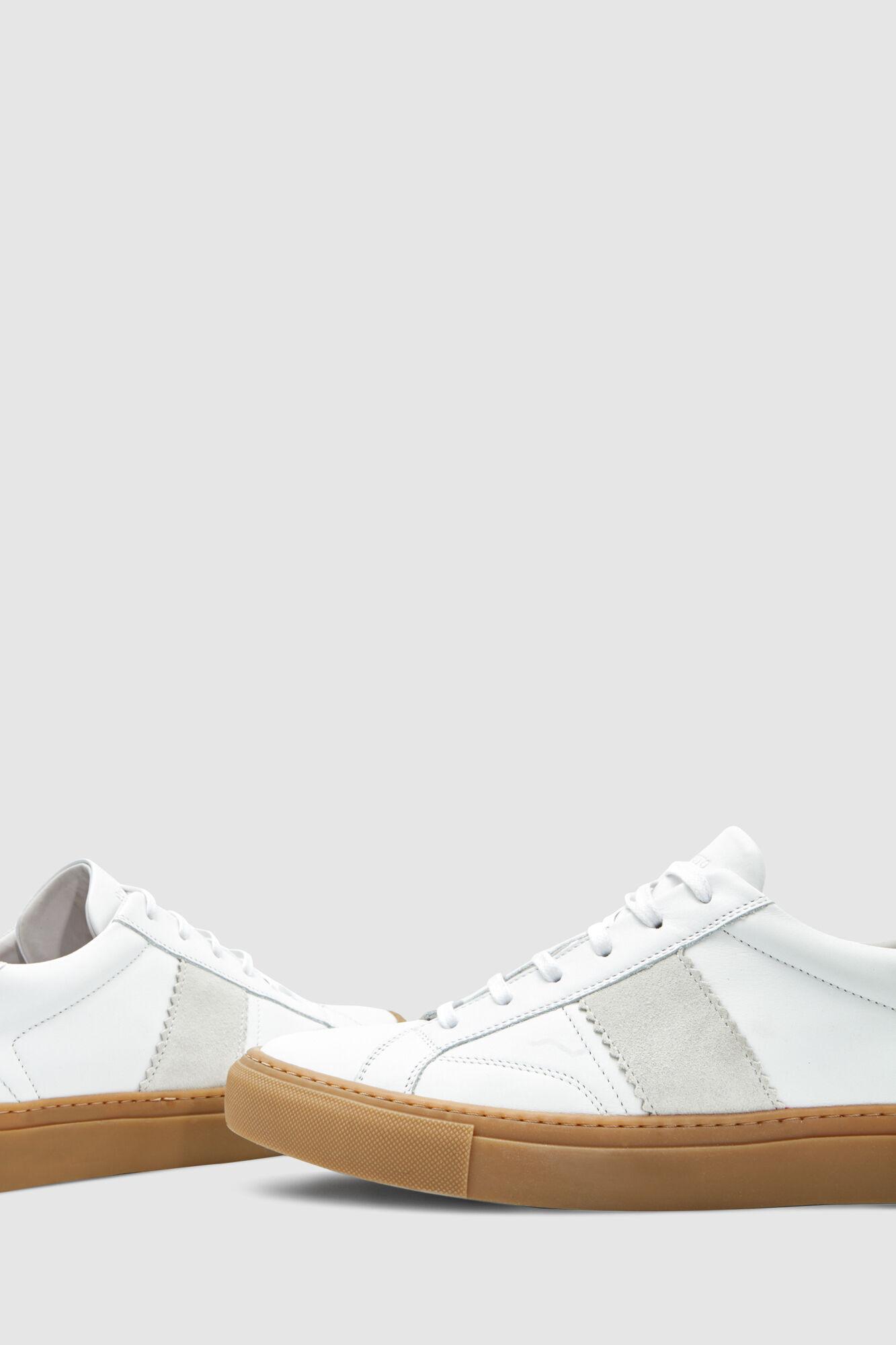 f788fb9e7979 Pedro del Hierro Plain leather sneakers White