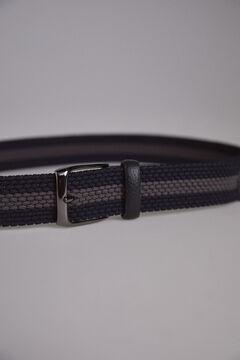 Pedro del Hierro Cinturon trenzado Azul