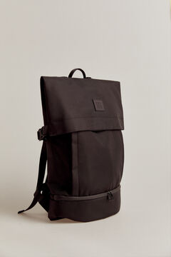 Pedro del Hierro Nylon backpack Black