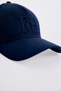 Pedro del Hierro Cotton baseball cap Blue