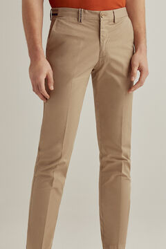 Pedro del Hierro Essential regular fit pima chinos  Beige