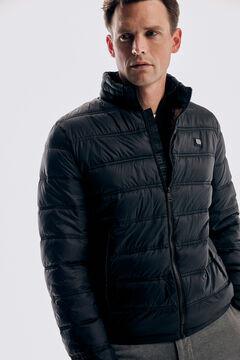 Pedro del Hierro Ultralight quilted jacket Black