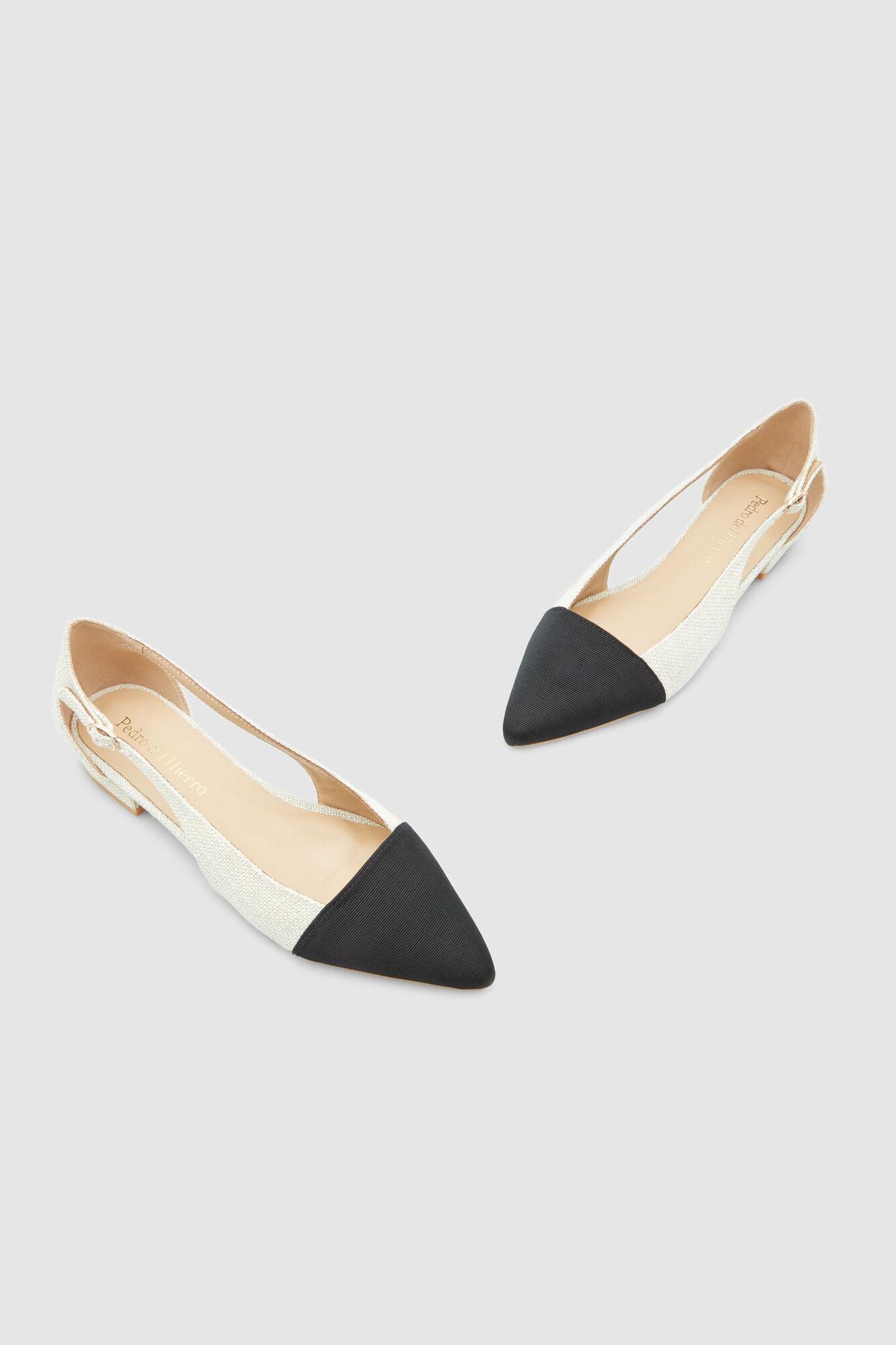 e4d3bf57d Sapatos rasos linho abertura | Calçado | Pedro del Hierro
