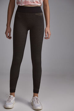 Pedro del Hierro Seam-free shaping leggings Black
