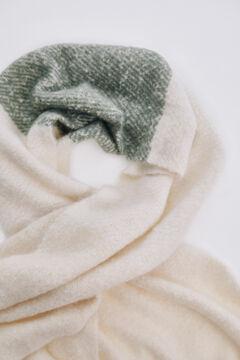 Pedro del Hierro Blanket scarf Ecru
