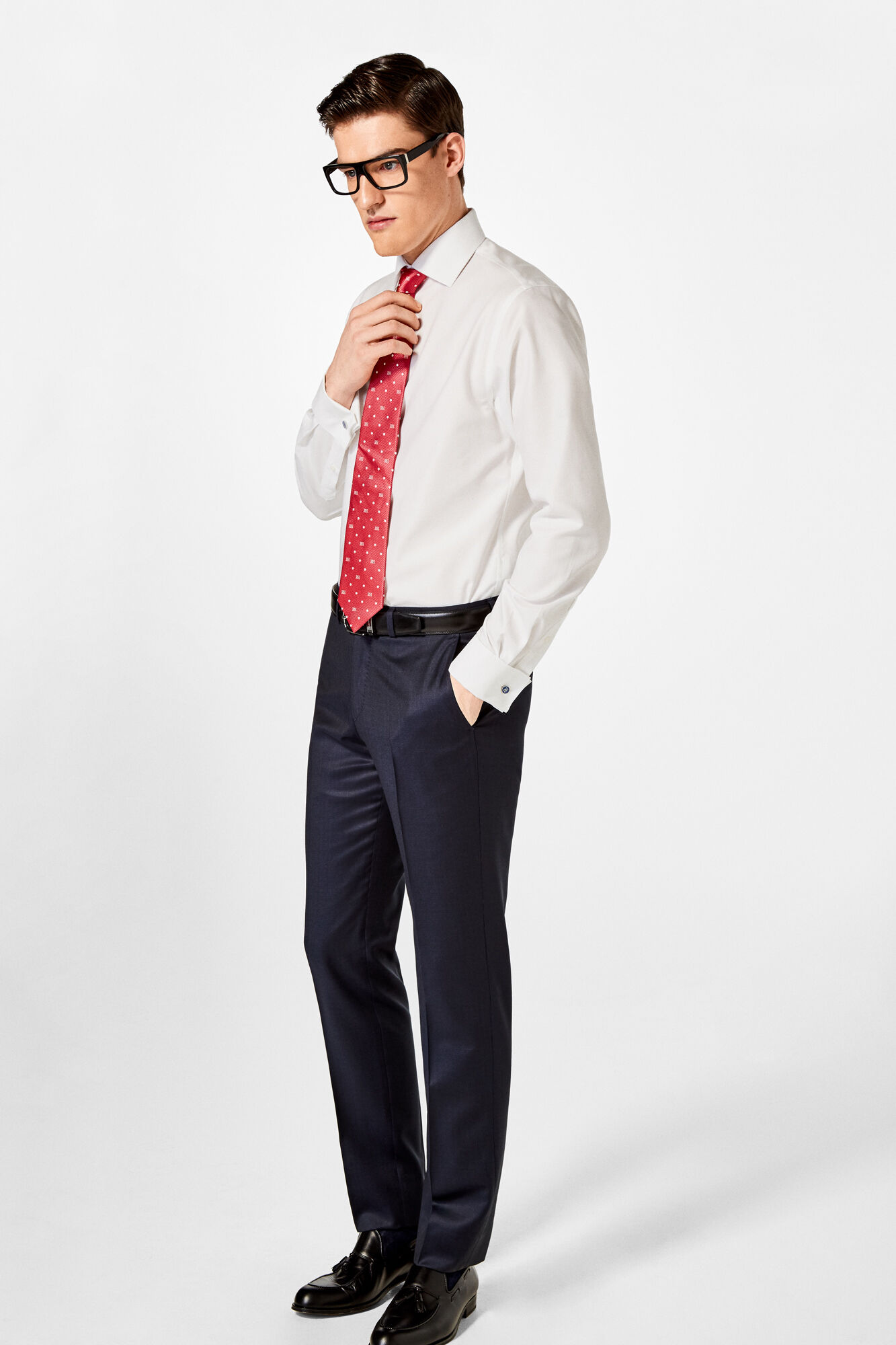 Tailored Dress Shirt With Cufflinks Shirts Pedro Del Hierro Man
