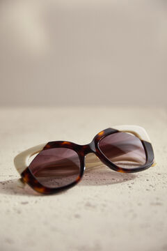 "Pedro del Hierro Gafa ""cat eye"" Brown"