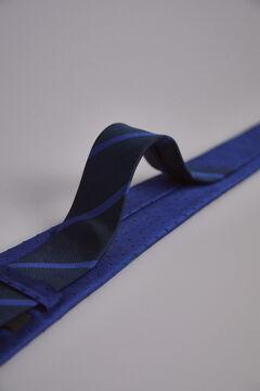 Pedro del Hierro Polka-dot tie Blue