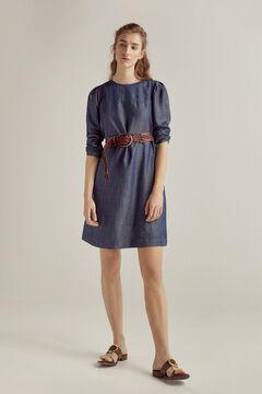 Pedro del Hierro Denim dress 100% Tencel® Blue