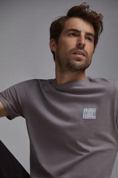 Pedro del Hierro Camiseta logo PdH Gris