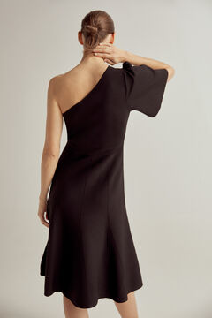 Pedro del Hierro Asymmetric dress Black