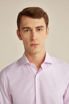 Pedro del Hierro Tailored Tech-Non Iron shirt Pink