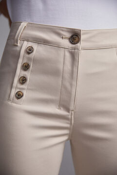 Pedro del Hierro Technical trousers Beige