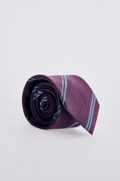 Pedro del Hierro Striped tie Pink