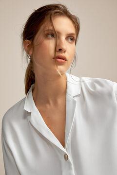 Pedro del Hierro Button detail blouse Ecru