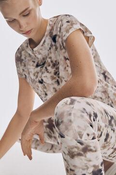 Pedro del Hierro Printed high waist compression leggings Several