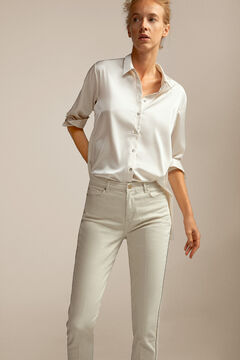Pedro del Hierro Straight-fit jeans Ivory