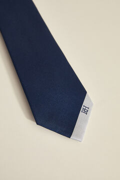 Pedro del Hierro Tie with stripe Blue