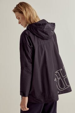 Pedro del Hierro Madrid Open raincoat Blue