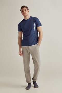 Pedro del Hierro Short-sleeved t-shirt Blue