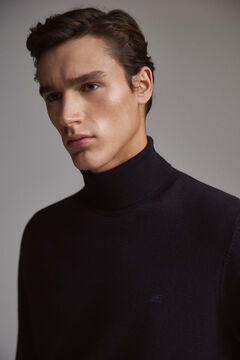 Pedro del Hierro Roll-neck jumper  Blue