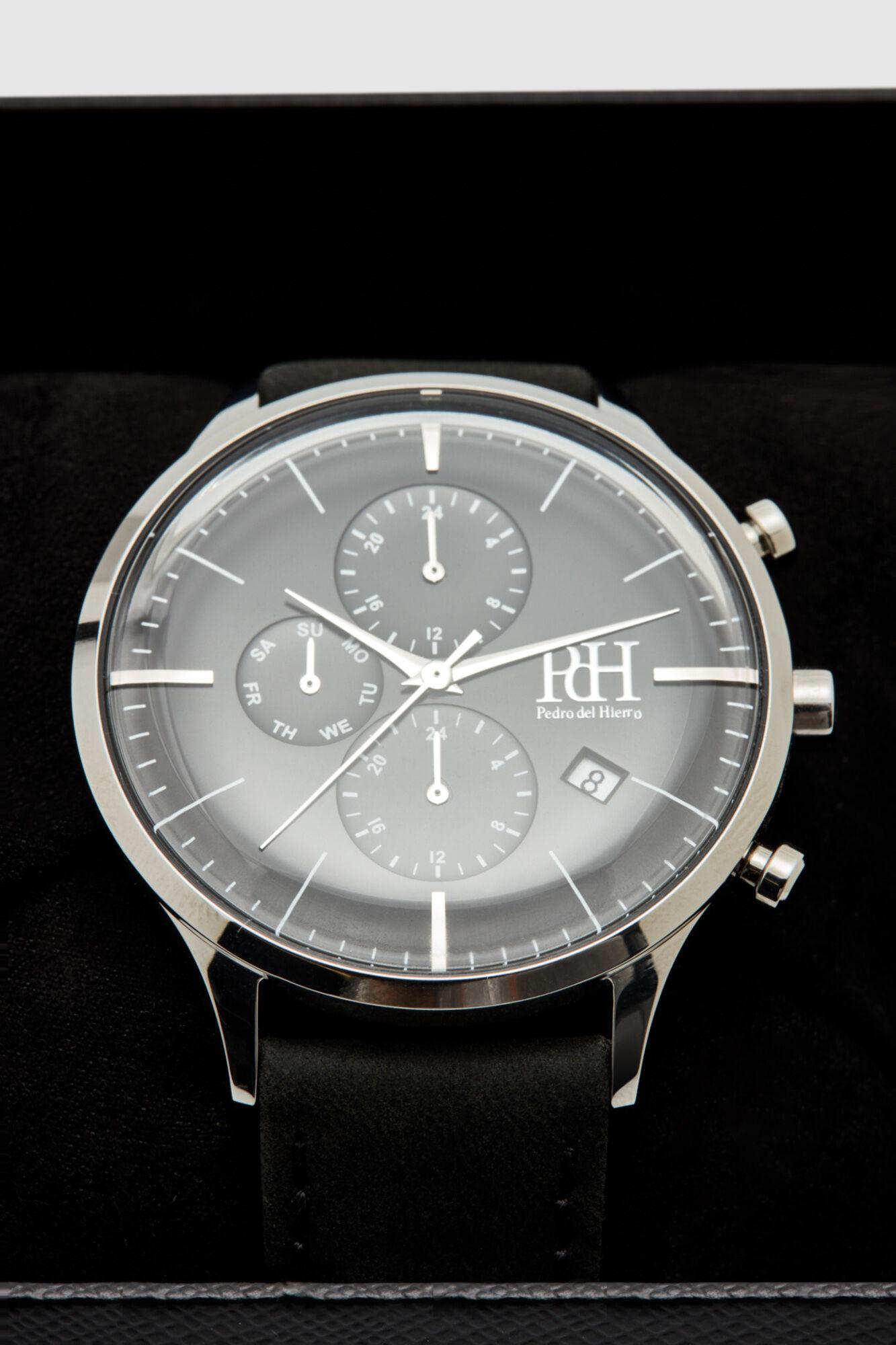 Piel Reloj Reloj Crono Clásico Crono SUVMpz