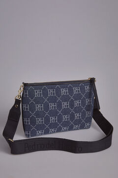 Pedro del Hierro Denim crossbody bag Blue
