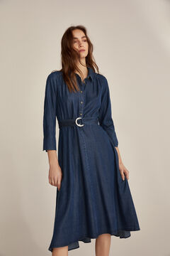 Pedro del Hierro Denim dress Blue